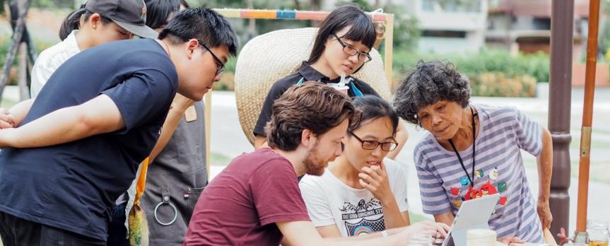 無限城市在台灣:合作性都市規劃,公民參與及數位工具