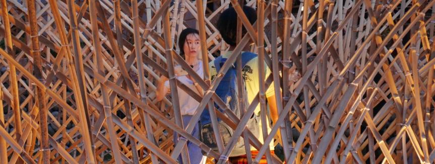 Rti : La ville en pratiques – Des ateliers de construction de pavillons en bambou àHsinchu